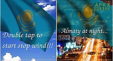 3d kazakhstan flag lwp Live Wall..