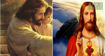 Beautiful jesus  hd Live Wallpap..