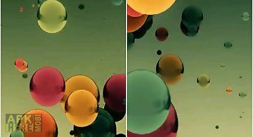 Flying colored balls Live Wallpa..