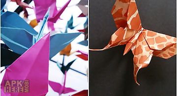 Ornate origami Live Wallpaper