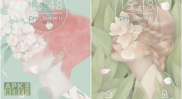 Quiet flower Live Wallpaper