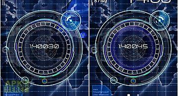 Radar: digital clock Live Wallpa..