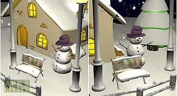 Snowfall 3d Live Wallpaper