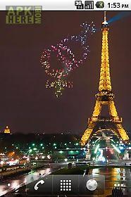 st valentine fireworks lwp live wallpaper