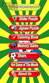 football puzzle - soccer world cup brasil 2014