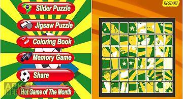 Football puzzle - soccer world c..