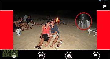 Ghost in photo scary