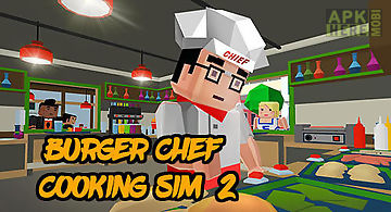 Burger chef: cooking sim 2