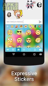 kika keyboard - emoji, gifs