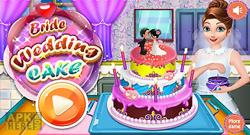 Bride wedding - cake games