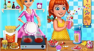 Burgers & shakes - food maker