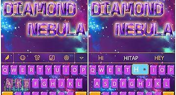 Diamond nebula for keyboard