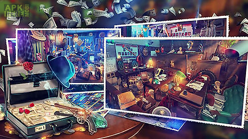 hidden objects: gangster rebellion. crime scene