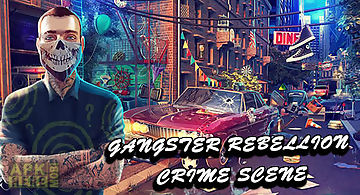 Hidden objects: gangster rebelli..
