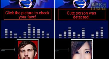 Pretty face detector joke