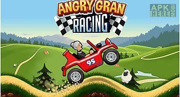 Angry gran - hill racing car