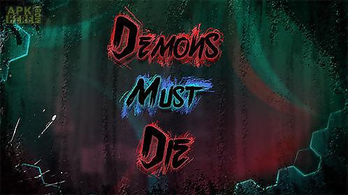 demons must die