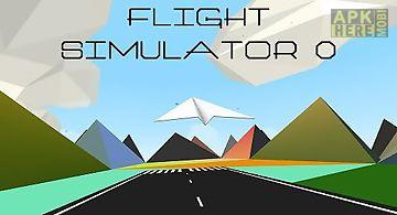 Flight simulator 0