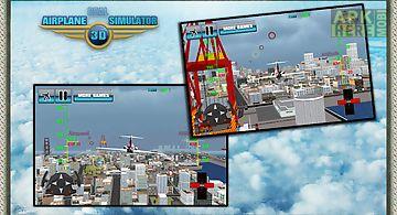Real airplane simulator 3d