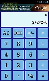 Standard calculator for Android free download at Apk Here