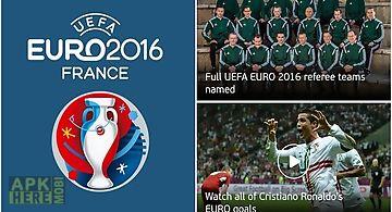 Uefa euro 2016: official app