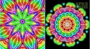 Kaleidoscope doodle pad