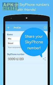 skyphone - free calls