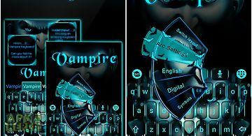 Vampire go keyboard theme
