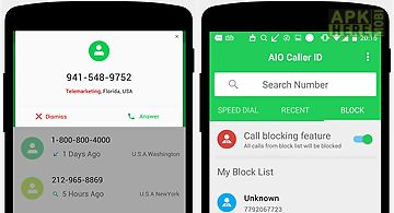 Big caller id for Android free download at Apk Here store