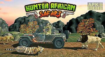 Hunter: african safari
