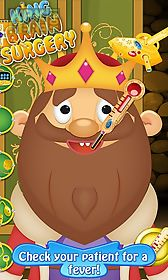 king brain doctor - kids game