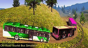 Off-road tourist bus sim 3d