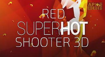 Red superhot shooter 3d