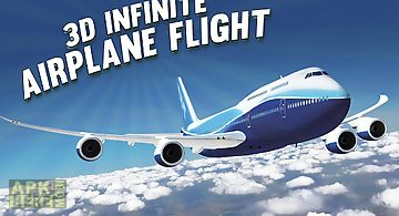 3d infinite airplane flight