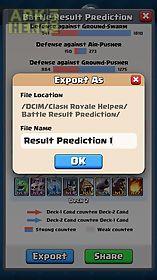 battle result predictor for cr