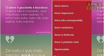Belas frases de amor