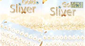 Gold & sliver kika keyboard
