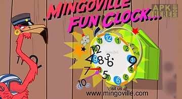 Learn to tell time - fun clock