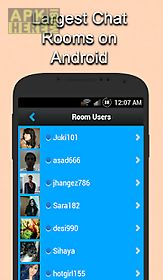 Live Chat Rooms App For Android Description: Chat Now Instantly With 1000s  Of People! Our Rooms Are Are Fun And Easy Way To Communicate.