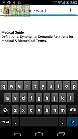 medical dictionary & guide