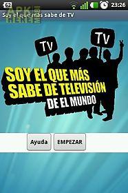 soy el que más sabe de tv free