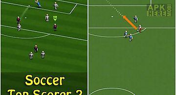 Soccer: top scorer 2