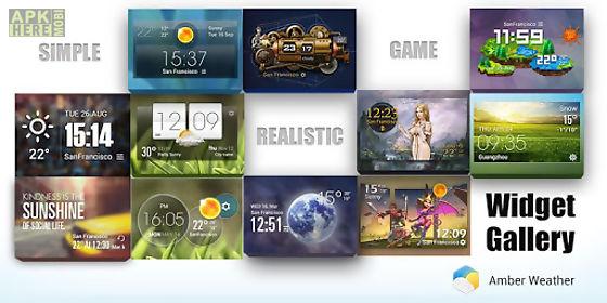 3 day clock forecast widget