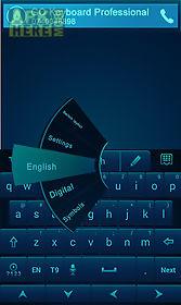 go keyboard professional blue