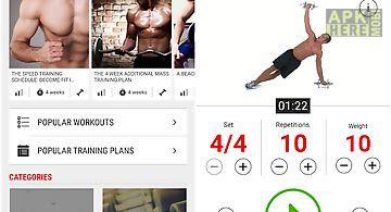 Mens health fitness trainer