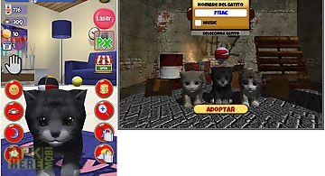 Virtual pet cat kittyz