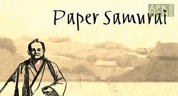Paper samurai