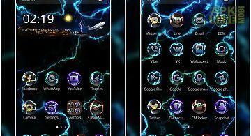 Thunder theme - cool laser