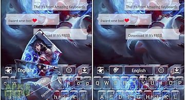 Ahri lol keyboard