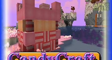 Candy craft mcpe guide mod